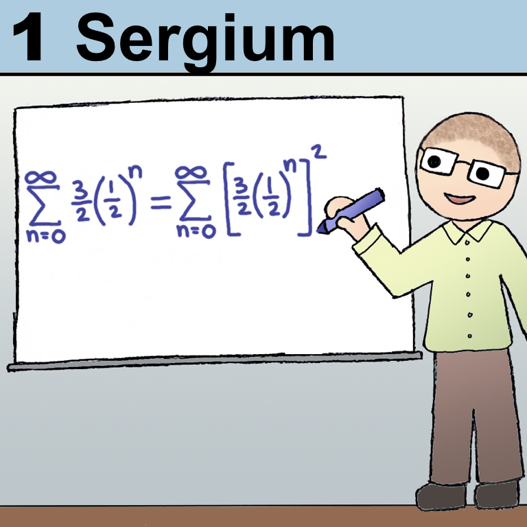 Patron 1 on the Periodic Table of Patrons - Sergium