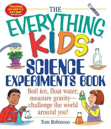 Book cover of Everything Kids' Science